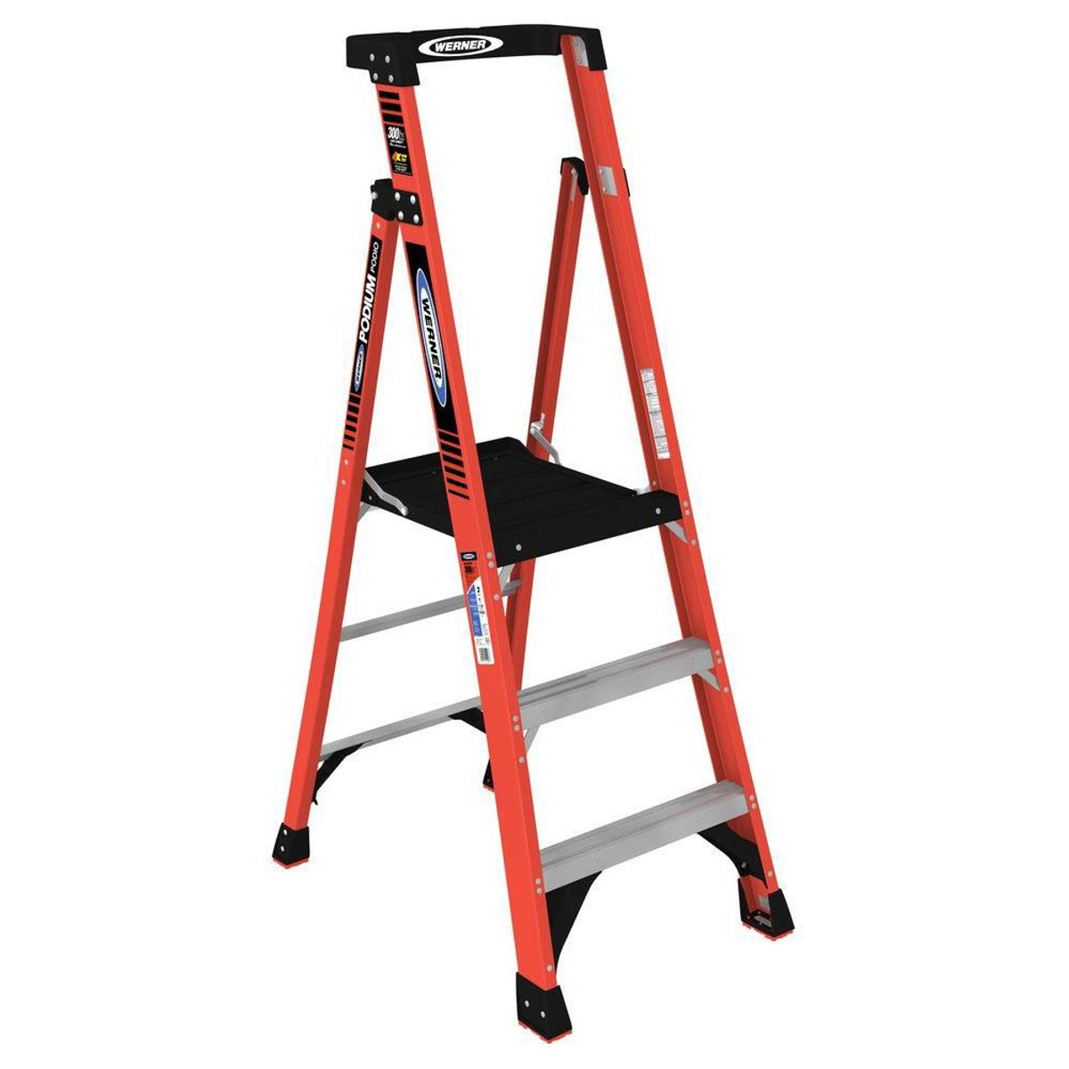 Pdia03 Type Ia Fiberglass Podium Ladder