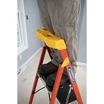 C6205  4.5ft Type IA Fiberglass Compact Step Ladder