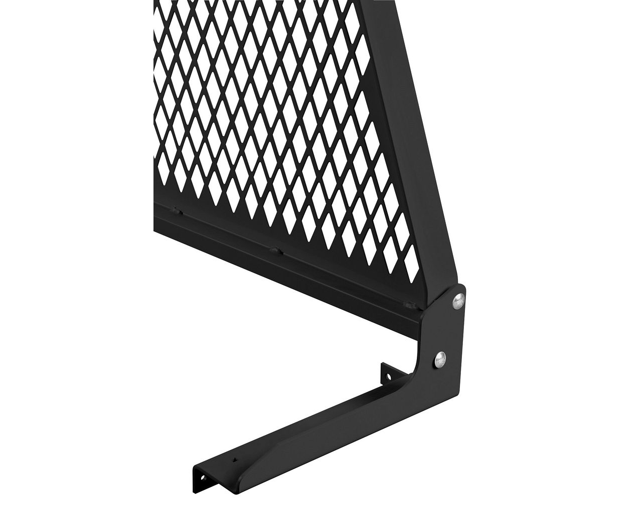 Weather Guard 1912-5-01 Cab Protector Mounting Kit, Black