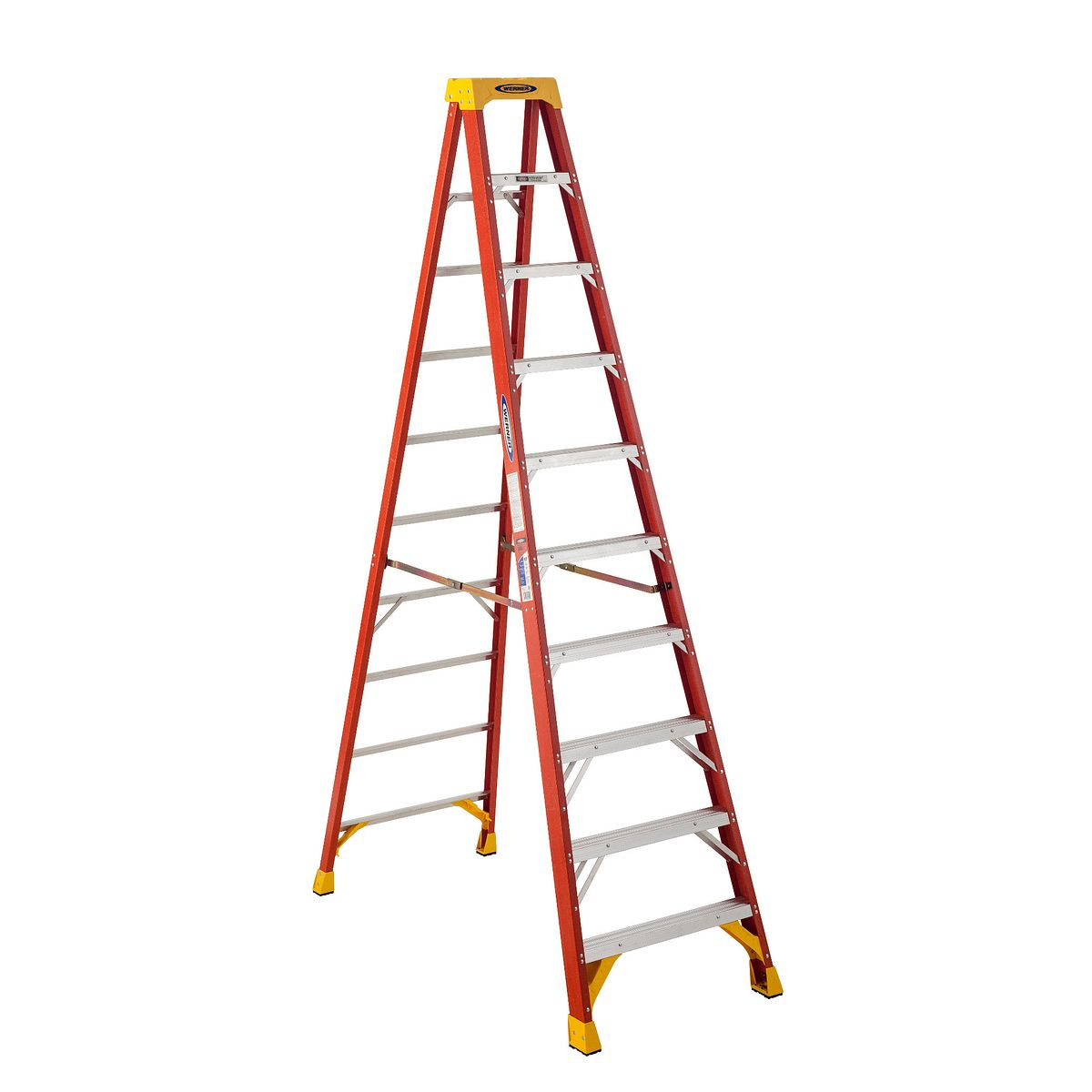 Image result for 10' werner fiberglass step ladder 6210