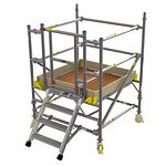 BoSS Low Level Work System Gate Frame 0.7m (W) x 1.3m (L) 0.7m Platform Height