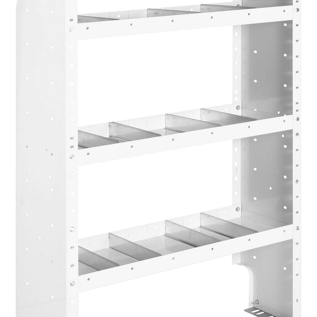 44in x 52in x 16in Weatherguard Heavy Duty Adjustable 3 Shelf Unit