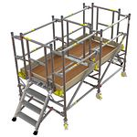 BoSS Low Level Work System Span Frame 0.7m (W) x 2.6m (L) 0.7m Platform Height
