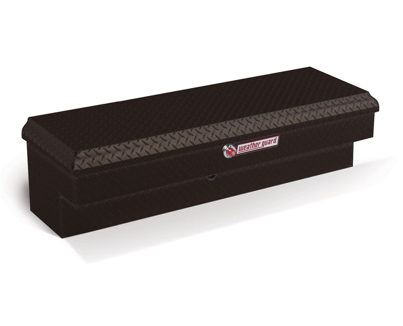 Weather Guard 184-5-01 Side Box - Aluminum (Black)