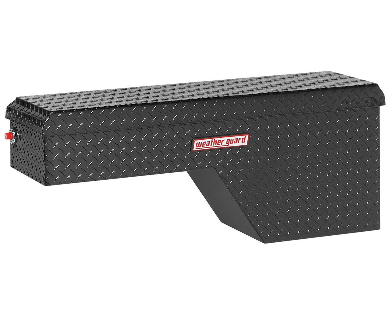 Weather Guard 173-5-01 Pork Chop Box, Aluminum, Passenger Side