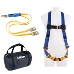K121043 Aerial Kit with BaseWear Std Harness and 6 ft DeCoil Dual Leg Lanyard