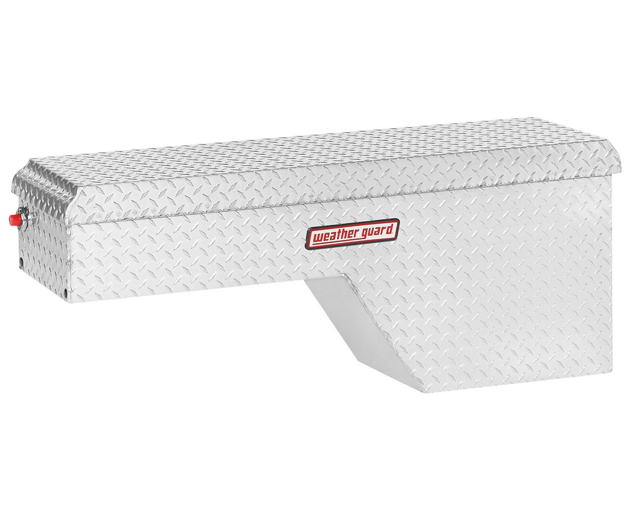 Weather Guard 173-0-01 Pork Chop Box, Aluminum, Passenger Side