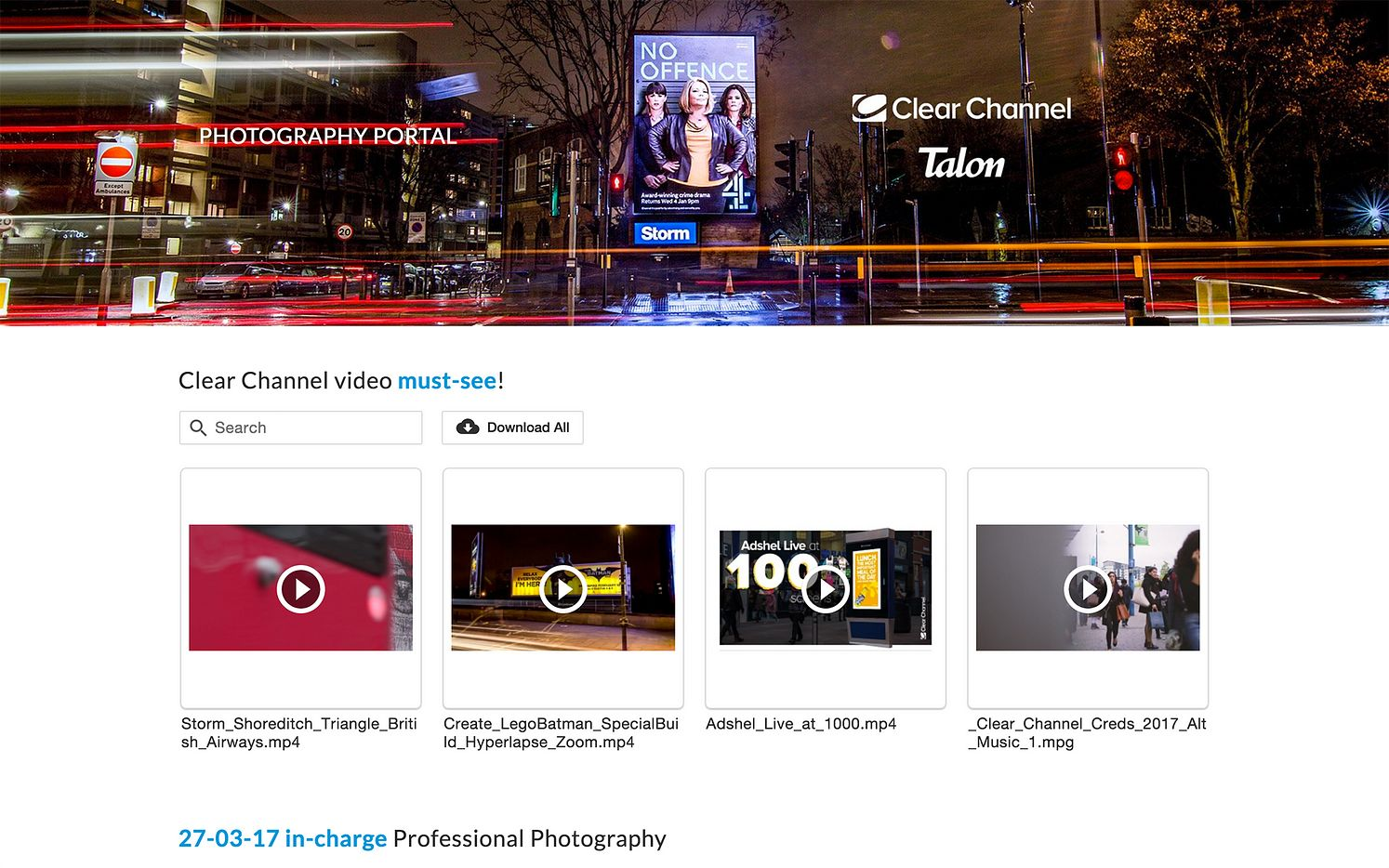 Four stunning examples of sharing content with Portals