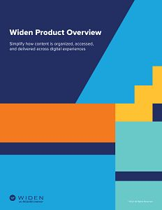 Widen Collective dam software product overview