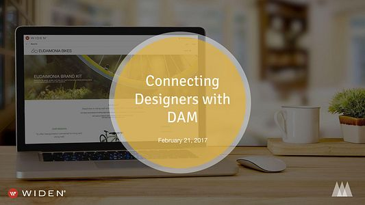 Connecting Designers with DAM