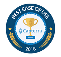 Capterra Best Ease of Ue Award