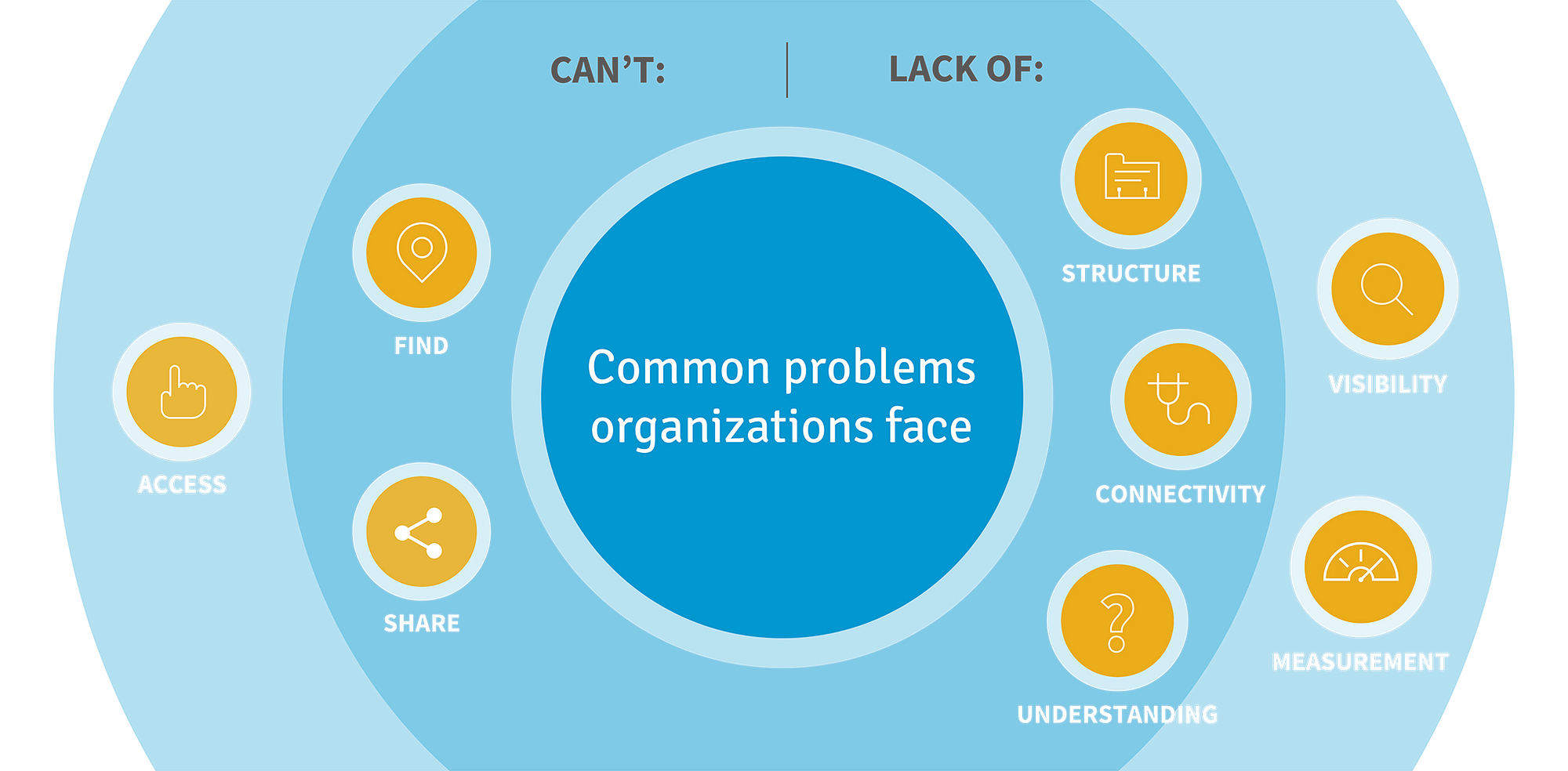 Common problems organizations face
