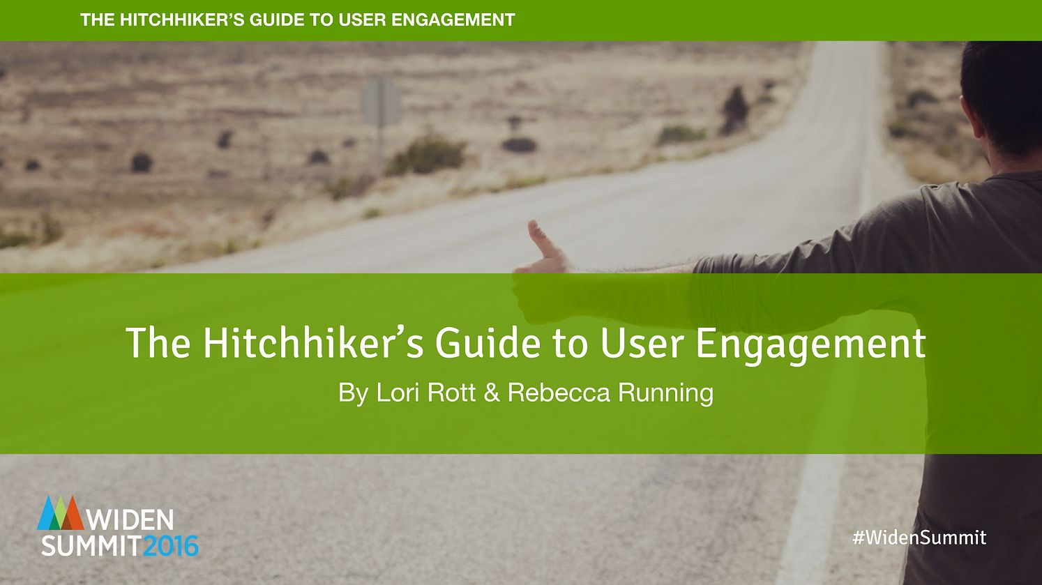 The Hitchhikers Guide to User Engagement