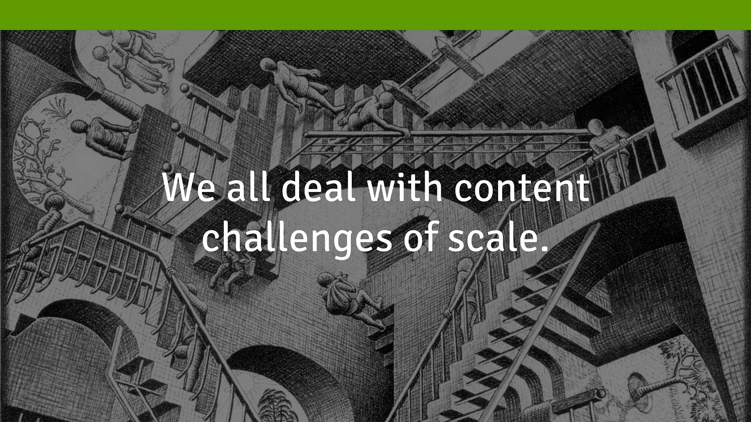 Content Marketing & the Challenges of Scale
