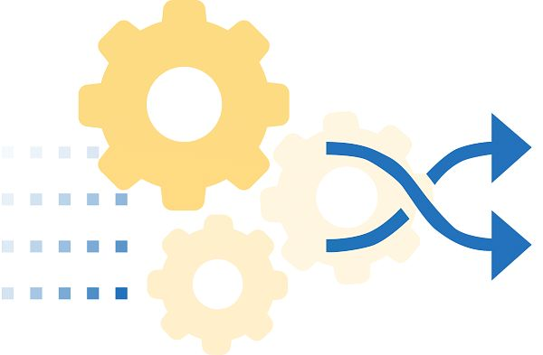 Drupal module abstract graphic