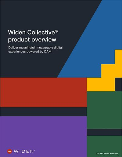 Widen Collective DAM software features and benefits