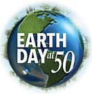 Earth Day at 50 logo