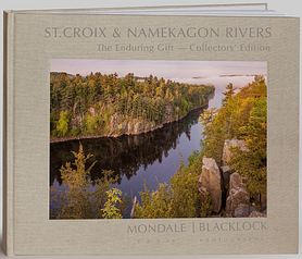 Photo of book cover about the St. Croix and Namekagon rivers