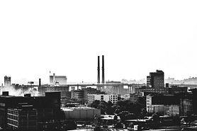 Industrial area in Milwaukee