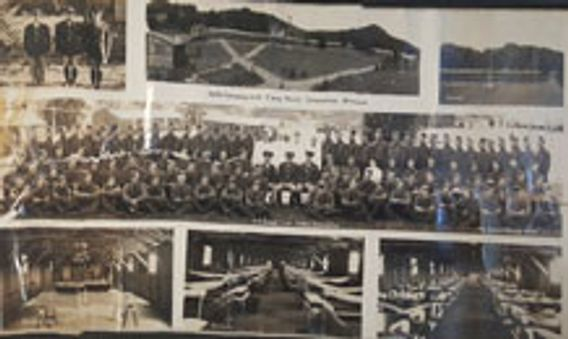 Camp Perrot CCC historic photo collage