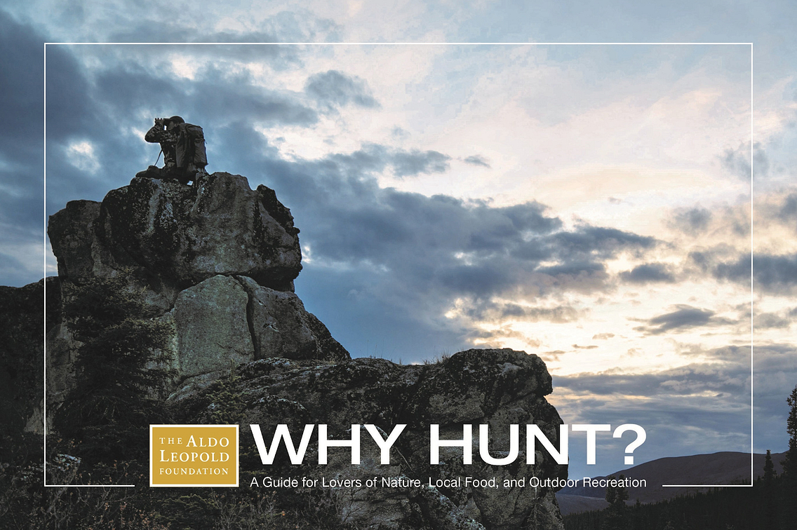 Photo of book titled Why Hunt?