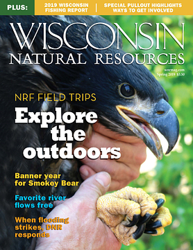Wisconsin Natural Resources magazine Spring 2019 Cover