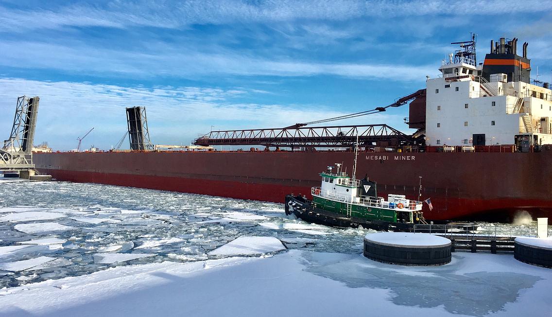Mesabi Miner shipping vessel