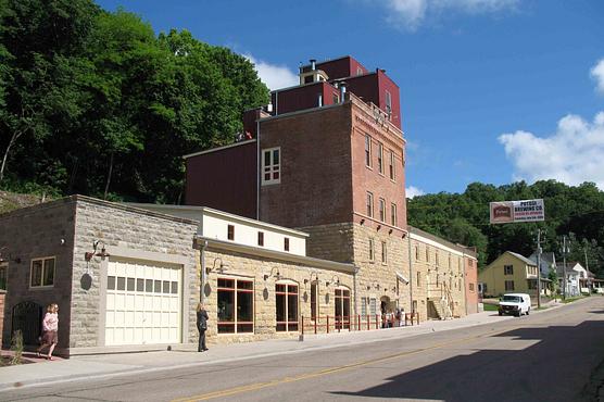 The restored Potosi Brewery