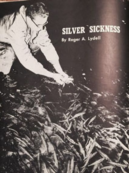 old publication cover with smelt fisheries photo