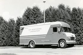 1970s Mobile Air Monitoring Lab