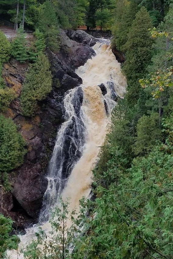 Big Manitou Falls at Pattison State Park