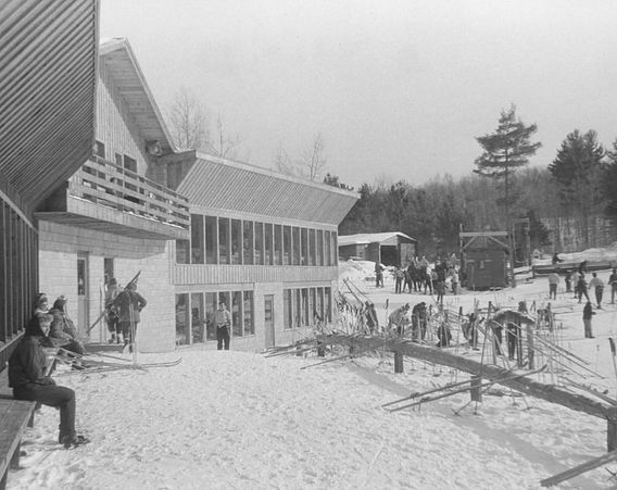 Telemark Lodge historic photo