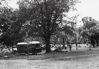 old-time camper at Interstate State Park in 1941