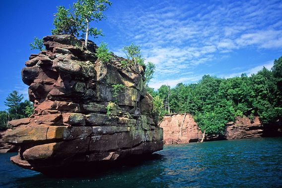 Stockton Island in the Apostle Islands National Lakeshore