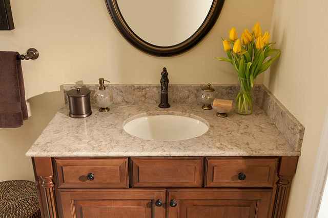 White Oval Sink