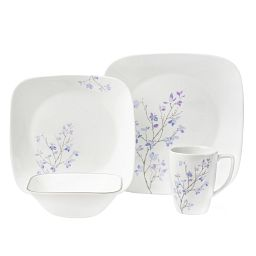 Square™ Jacaranda 16-pc Dinnerware Set