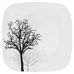 Square™ Timber Shadows Dinner Plate