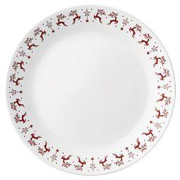 Dancer & Prancer 10.25 Dinner Plate