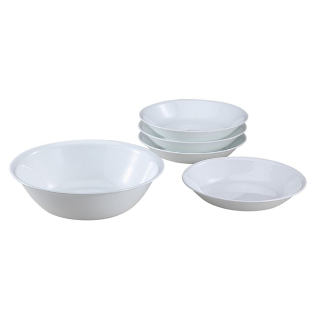 Livingware Winter Frost White 5-pc Pasta Set