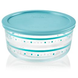 Simply Store Doodles 7 Cup Doodles Storage Dish with Lid