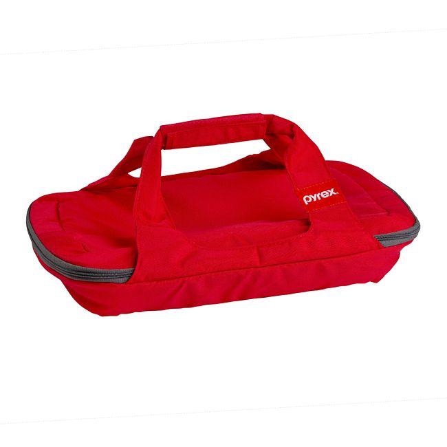 Portables Red Rectangular Bag for 3-quart Baking Dish