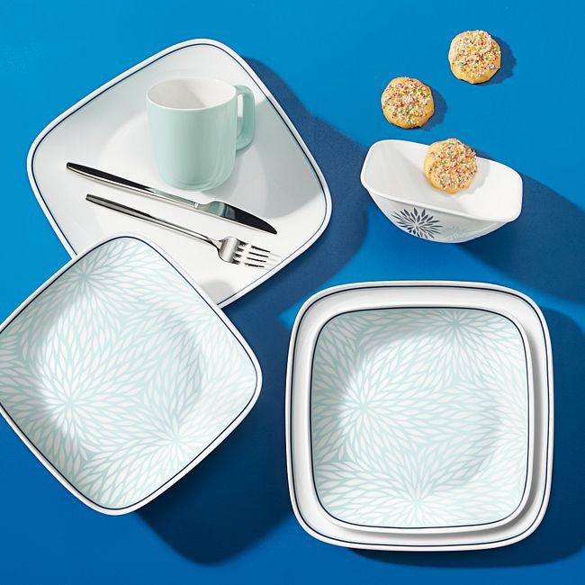 Dahlia 16-piece Dinnerware Set, Service for 4