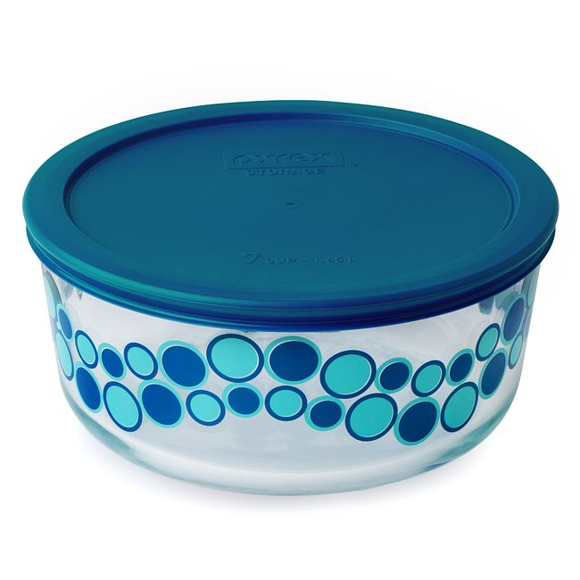 Simply Store 7 Cup Wintergreen Cirque Storage Dish w/ Lid
