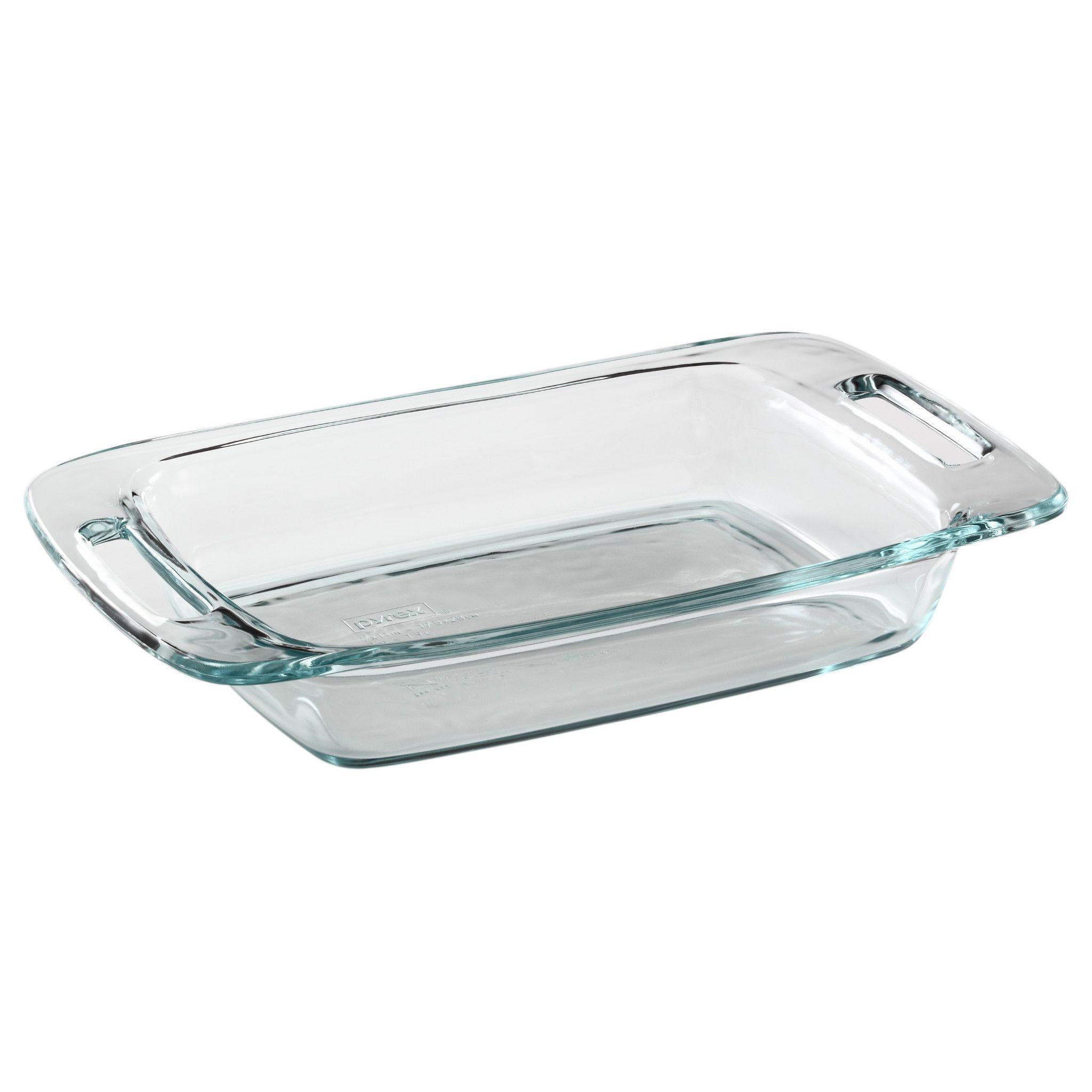 Pyrex Easy Grab 2-Qt Oblong Baking Dish