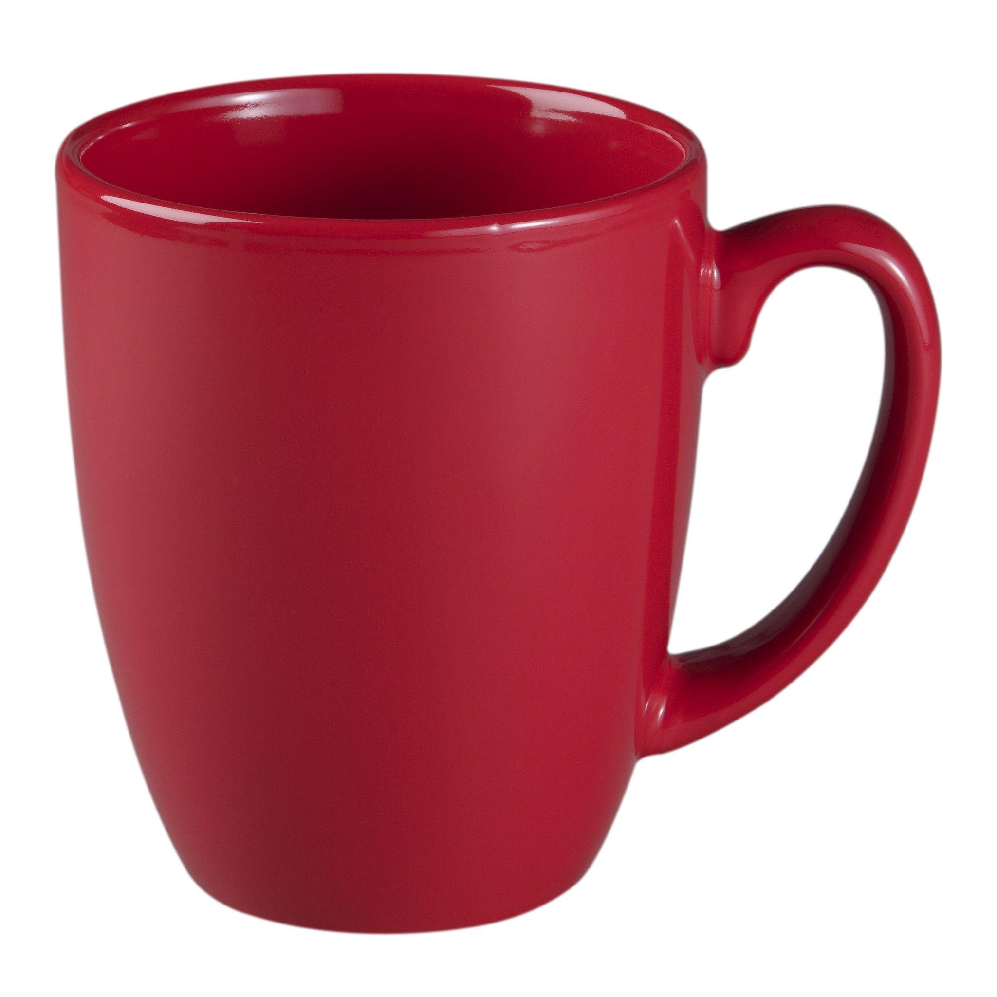 11-ounce Berry Red Mug