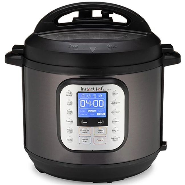 Instant Pot® Duo Nova 6-quart Multi-Use Pressure Cooker, Black