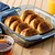 "Easy Grab 8"" Square Baking Dish with French Toast Inside"