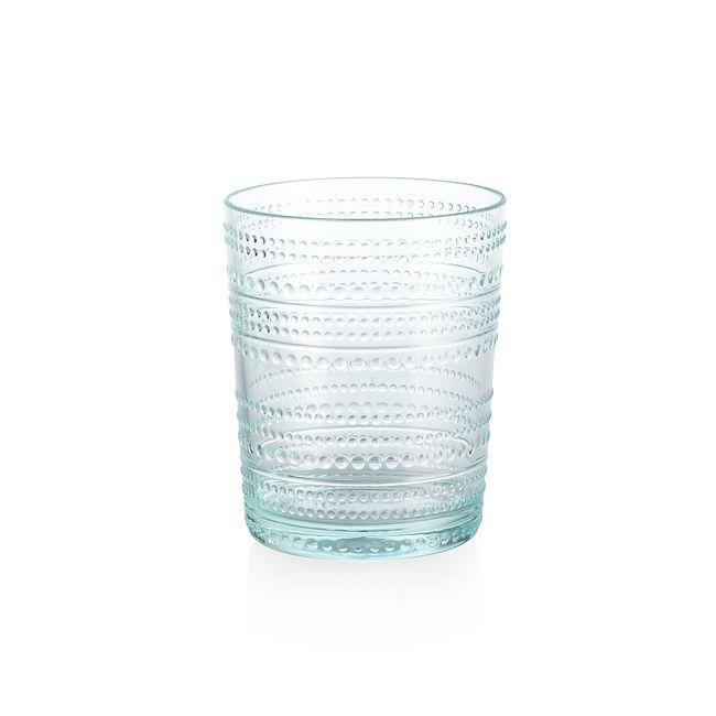 Aqua Beaded 15.6-ounce Acrylic Tumbler