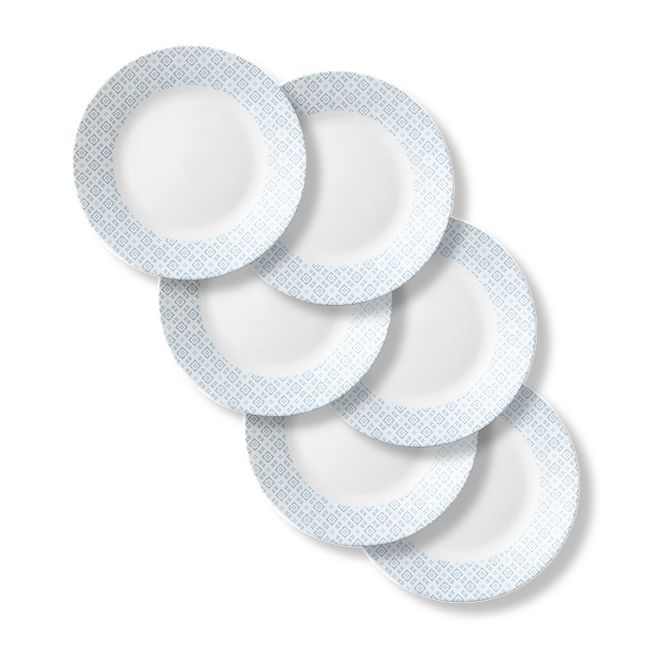 "Farmstead Blue 11"" Dinner Plate, 6-pk"