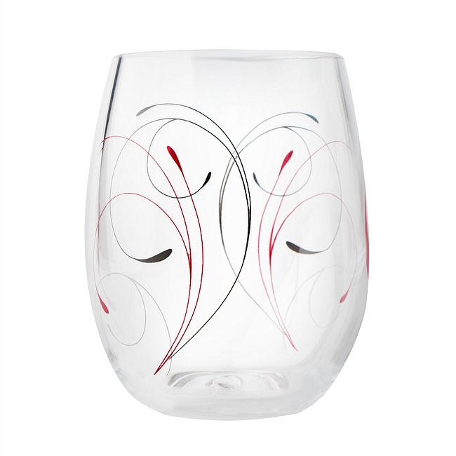 Splendor 16-ounce Acrylic Drinking Glass